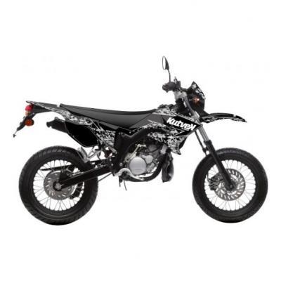 Kit déco Kutvek Predator MBK Xlimit / Yamaha DT 07-11 noir