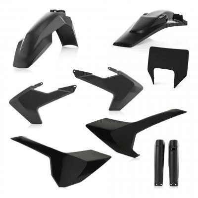 Kit plastiques complet Acerbis Husqvarna 250 FE 2019 noir