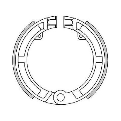 Mâchoires de frein Polini Original pour Vespa 50 PK/Ape