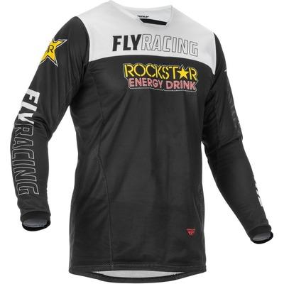 Maillot cross Fly Racing Kinetic Mesh Rockstar
