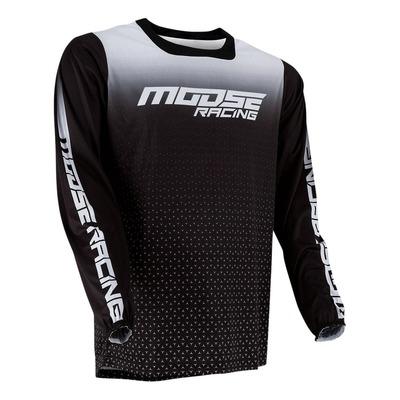 Maillot cross Moose Racing M1 noir/blanc