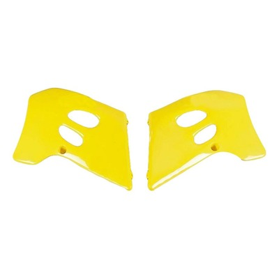 Ouïes de radiateur UFO Suzuki 250 RM 94-95 jaune (jaune RM)