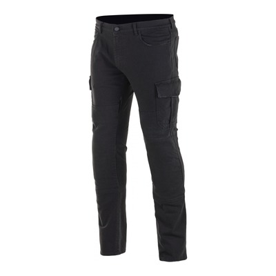 Pantalon cargo Alpinestars Cargo Riding distressed noir