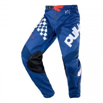 Pantalon cross Pull-in Challenger Master bleu/blanc