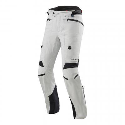 Pantalon textile Rev'it Poseidon 2 Gore-Tex (standard) argent/noir
