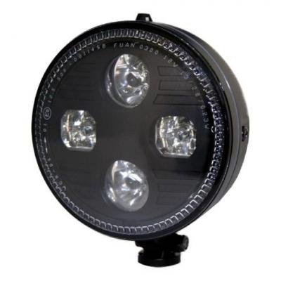 Phare LED Highsider Atlanta fixation inférieure noir
