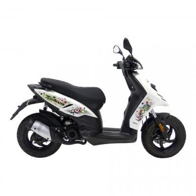 Pot d'échappement scooter Leovince Touring pour Piaggio NRG MC2 97-00