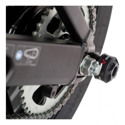 Protection de bras oscillant SW-MOTECH noir Kawasaki Versys 650 15-