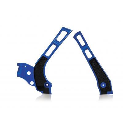 Protection de cadre Acerbis X-grip Yamaha 125/250 YZ 06-17 bleu