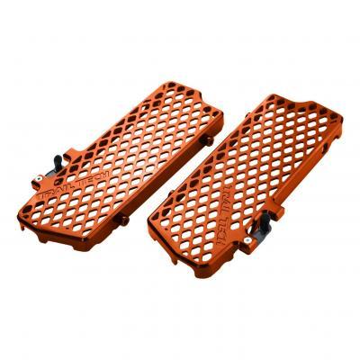 Protection de radiateur Trail Tech orange KTM 125 SX 07-15