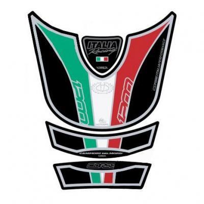 Protection de réservoir Motografix Italia noir Ducati Multistrada 1200 4 pièces