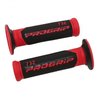 Revêtements de poignées 732 Progrip rouge/noir