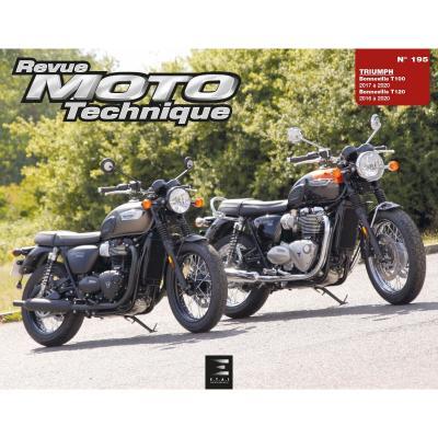 Revue Moto Technique 195 Triumph Bonneville T100 / T120