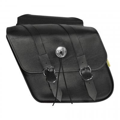 Sacoches latérales Willie & Max cuir synthétique modèle Slant taille S