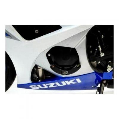 Slider moteur gauche R&G Racing noir Suzuki GSX-R 1000 05-08