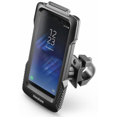 Support guidon tubulaire Cellularline Pro Case pour Samsung Galaxy S8 Plus