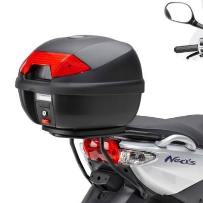 Support spécifique Kappa pour top case Monolock MBK 50 Ovetto 08-14