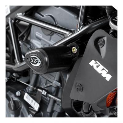 Tampons de protection R&G Racing Aero noir KTM Duke 390 13-18