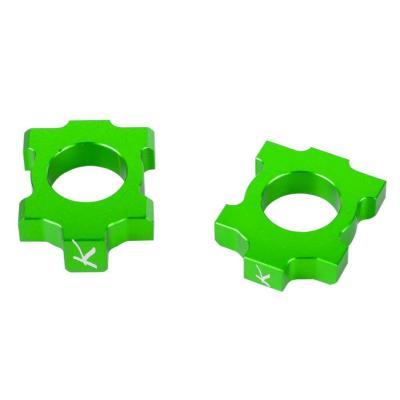 Tendeurs de chaîne Kite Kawasaki 250 KX-F 05-17 vert