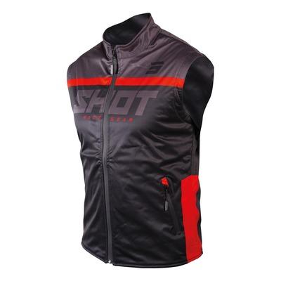 Veste sans manches Shot Bodywarmer Lite 2.0 noir/rouge