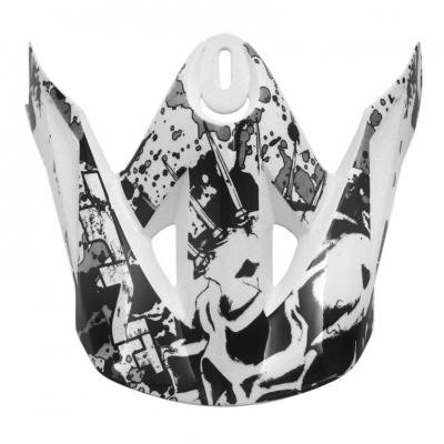 Visière casque cross TNT helmets sc05 dead head