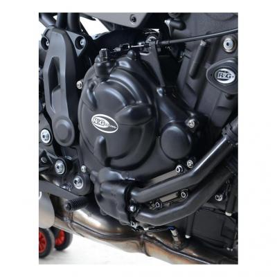 Kit couvre carter moteur R&G Racing noir Yamaha Ténéré 700 19-20