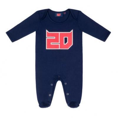 Pyjama bébé Fabio Quatararo 20 bleu