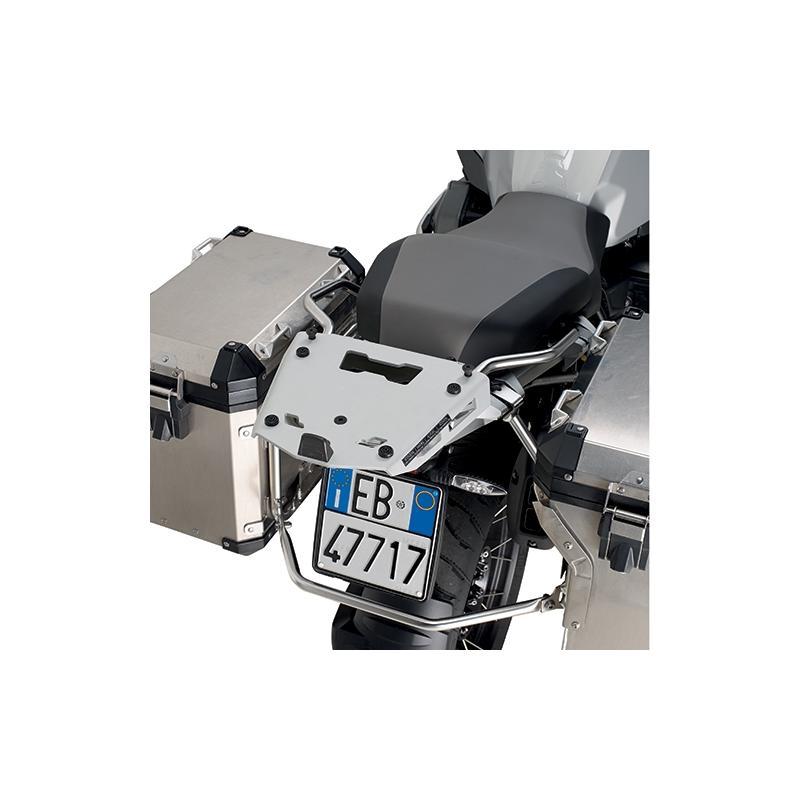 Support spécifique et platine en aluminium Kappa pour top case Monokey BMW R 1200GS 14-18