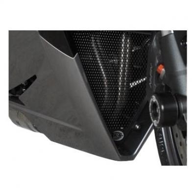 Grille de protection de collecteur R&G Racing noire Triumph Daytona 675 13-16