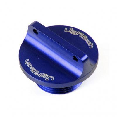 Bouchon de remplissage d'huile moteur Lightech bleu Ø M20x2,5 mm 2 pans