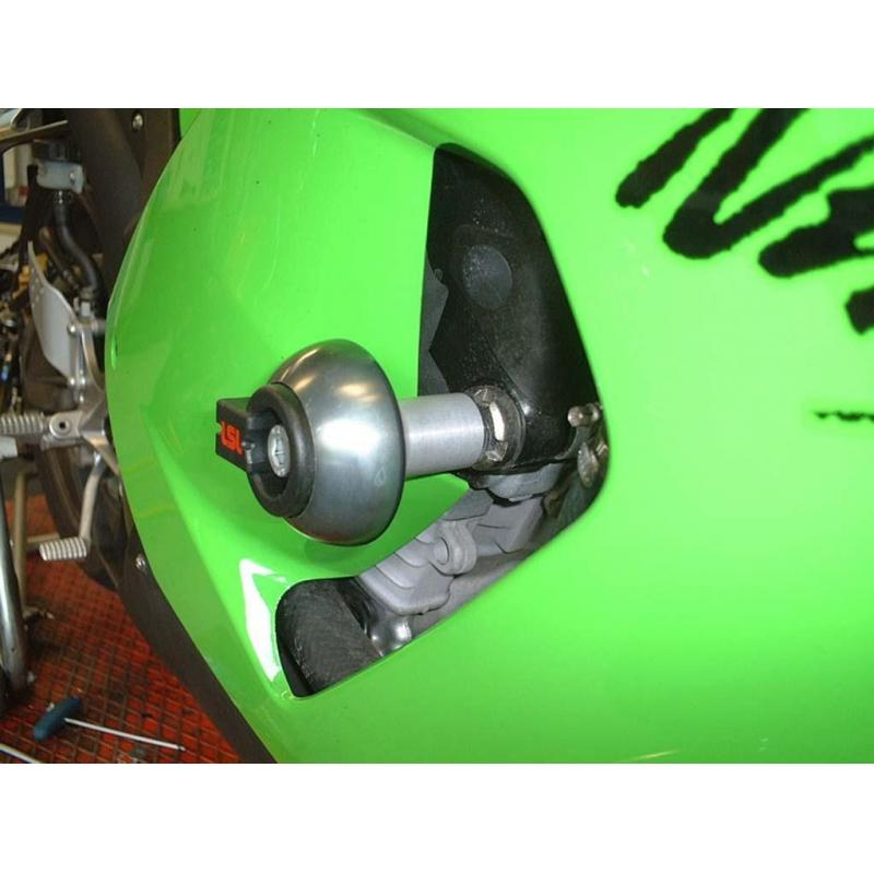 Kit fixation tampon de protection LSL Kawasaki ZX-6R 05-06