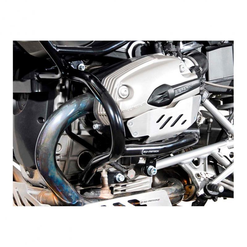 Barres de protection latérale SW-MOTECH noir BMW R 1200 GS 04-12