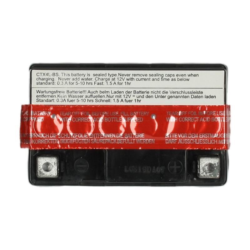 Batterie Sceed 42 YTX4L-BS 12V 3Ah avec pack acide - 1