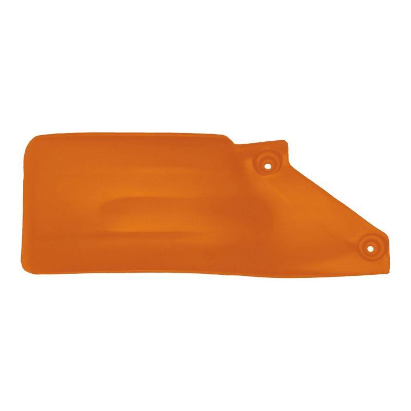 Bavette d'amortisseur RTech orange pour KTM SX 125 07-15
