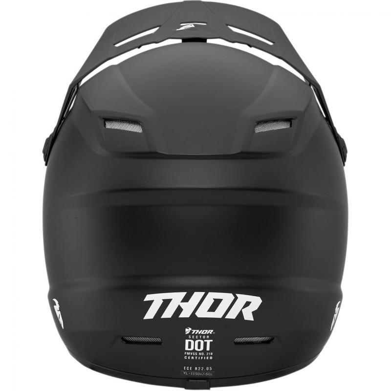 Casque cross enfant Thor Sector noir mat - 1