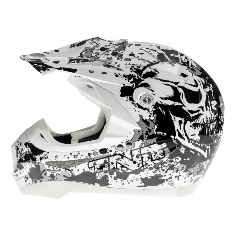 Casque cross TNT helmets dead head - 1