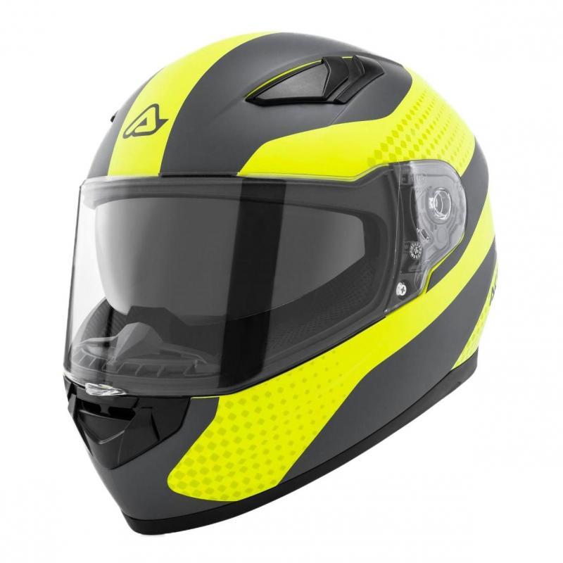 Casque intégral Acerbis X-Street FS-816 jaune/gris