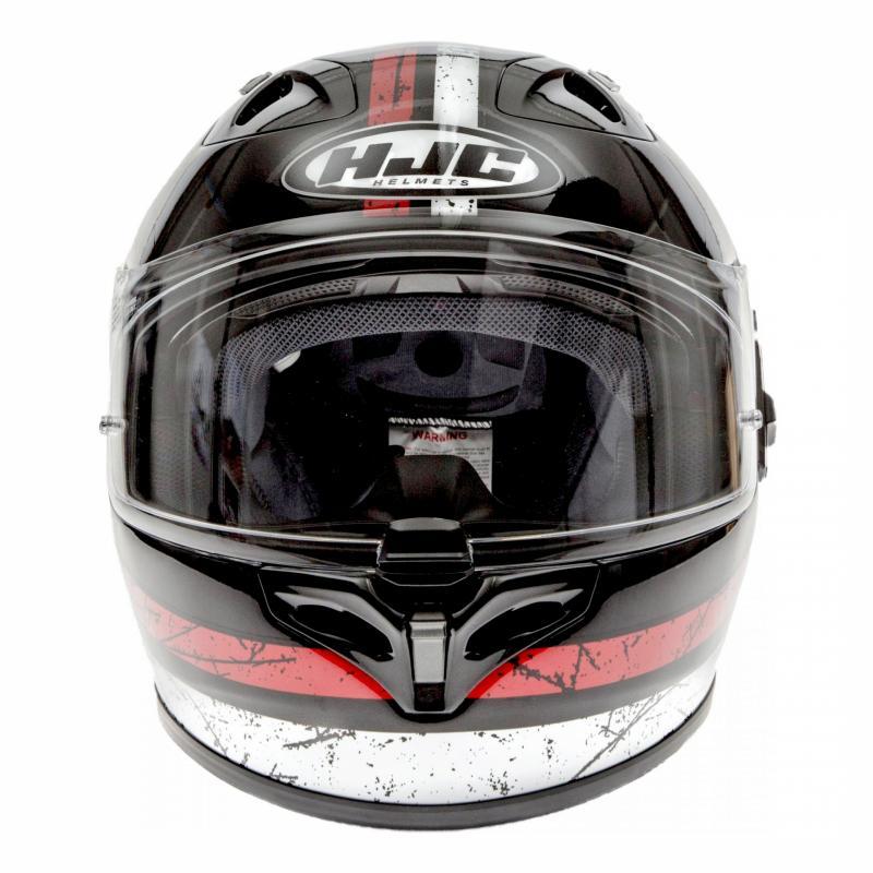 Casque intégral HJC FG-ST Labi noir/blanc/rouge - 3