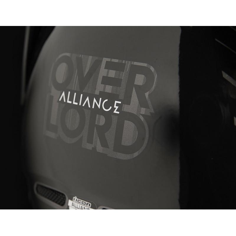 Casque intégral Icon Alliance Overlord noir/gris - 3