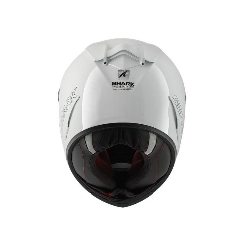 Casque Intégral SHARK Race-R Pro Blank blanc - 2
