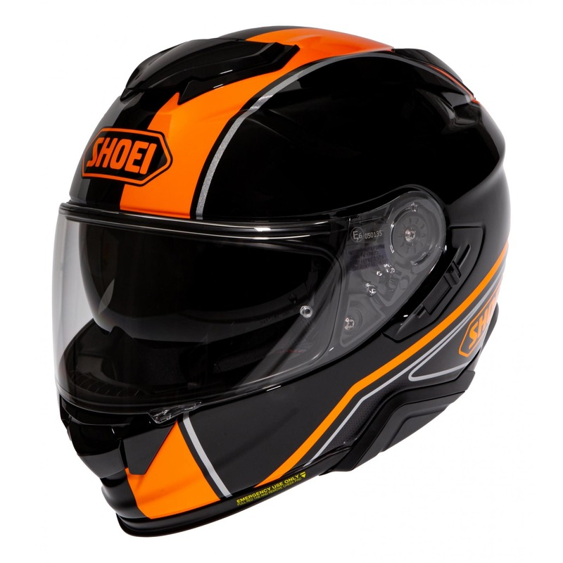 Casque intégral Shoei GT-Air II Panorama TC-8 orange/noir