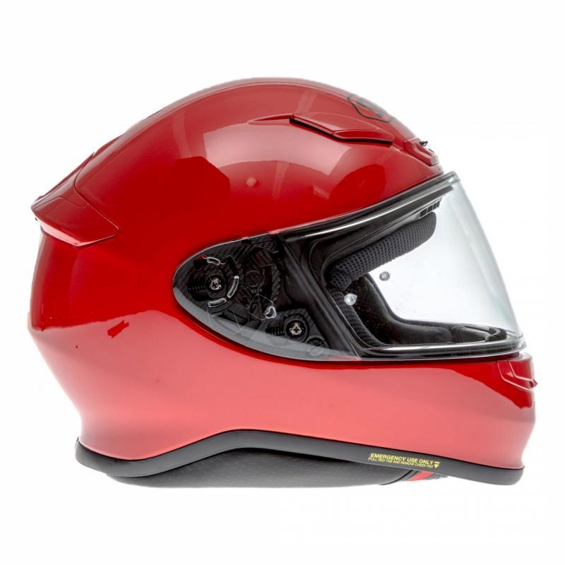 Casque intégral Shoei NXR rouge brillant - 2