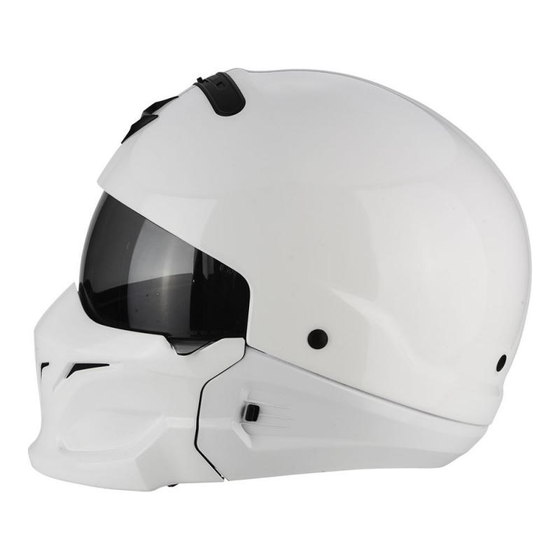 Casque Scorpion EXO-COMBAT blanc - 2