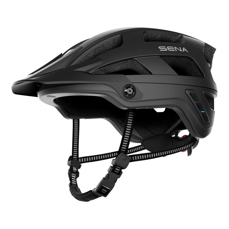 Casque vélo Sena M1 intercom Bluetooth® intégrée noir mat