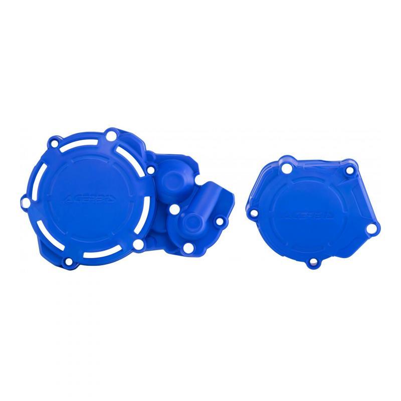 Kit de protections carters Acerbis X-Power Yamaha 250 YZ 05-20 bleu