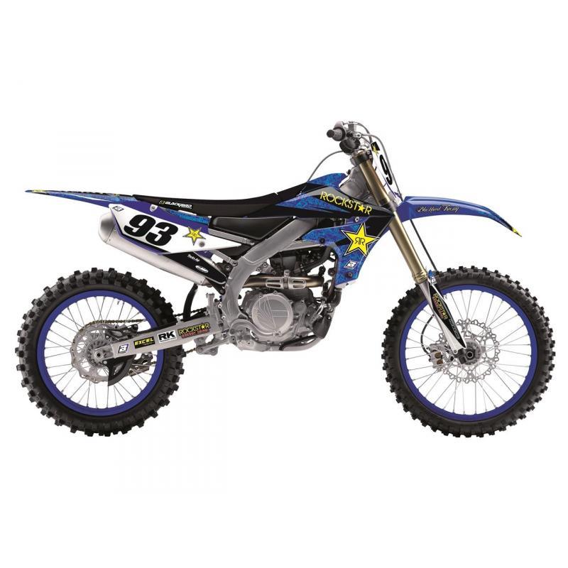 Kit déco Blackbird Rockstar Energy Yamaha 85 YZ 15-20 bleu
