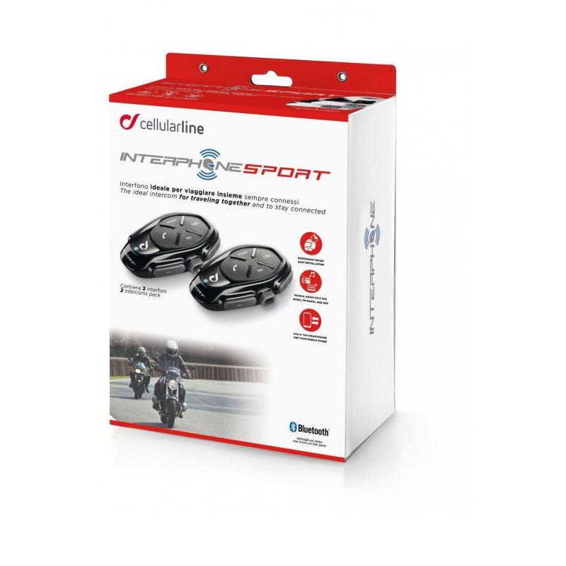 Pack interphones Sport Cellularline - 2