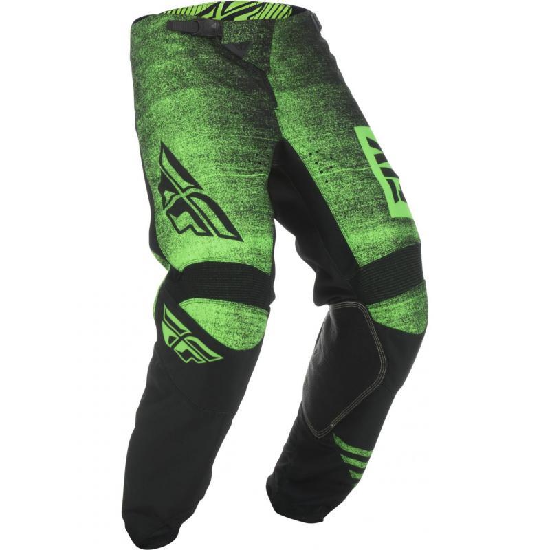 Pantalon cross enfant Fly Racing Kinetic Noiz vert/noir