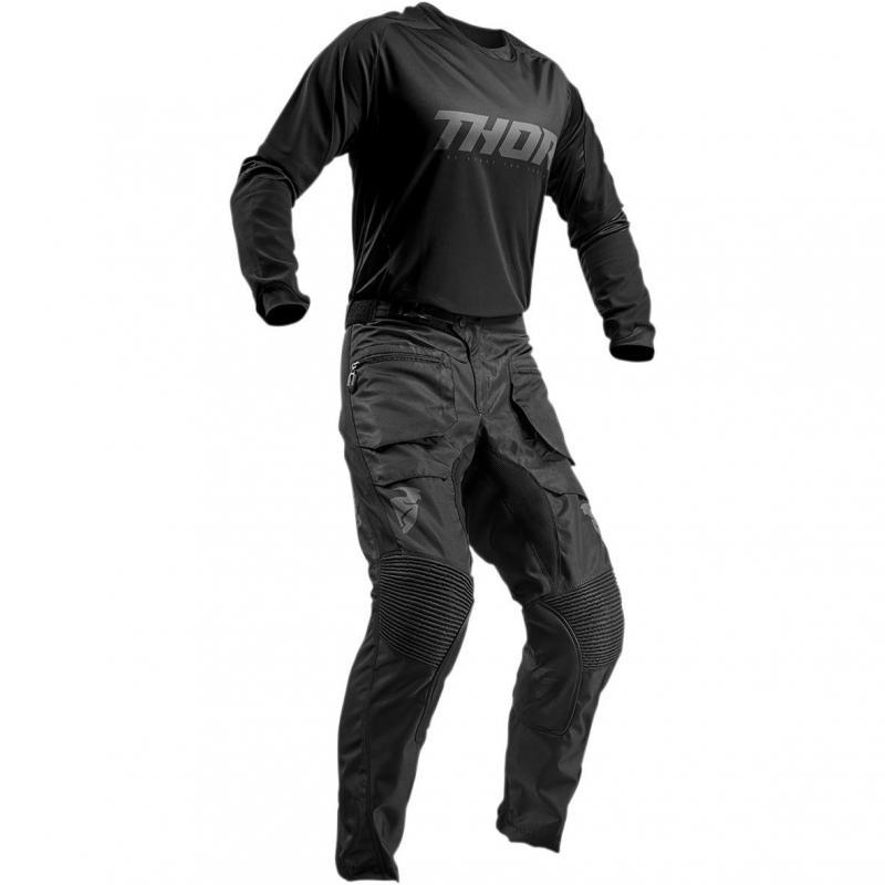 Pantalon enduro Thor Terrain noir - 5
