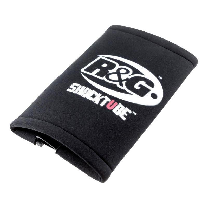 Protection d'amortisseur R&G Racing noire Yamaha MT-07 14-18